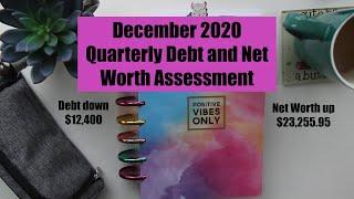 December 2020 Quarterly Debt and Net Worth Assessment