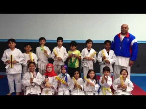 Al Hadi School 2016 Karate Competition at YMCA