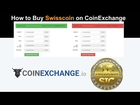 How to buy Swisscoin On CoinExchange Cryptocurrency Exchange