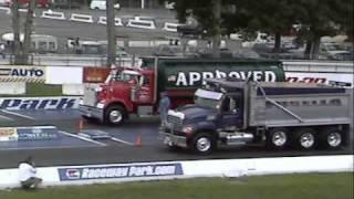 Freightliner VS Mack at 32nd US diesel nationals