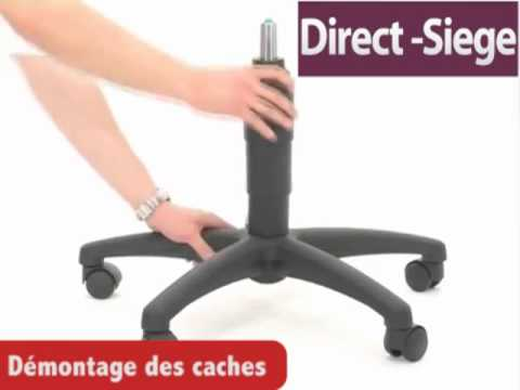 d montez votre si ge de bureau youtube. Black Bedroom Furniture Sets. Home Design Ideas