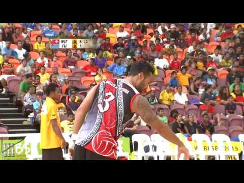 Pacific Games   2015  D10 VOLLEYBALL M 14 WALLIS & FUTUNA v FIJI