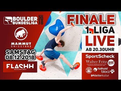 Finale – Boulder Bundesliga 2018 – 1.Liga Damen & Herren