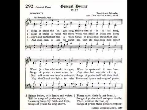 Songs of Praise the Angels Sang (Innocents)