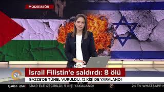 İsrail Filistin'e saldırdı: 8 ölü