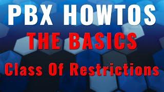 THE BASICS - Class Of Restriction (COR) - Avaya PBX R12 - HD