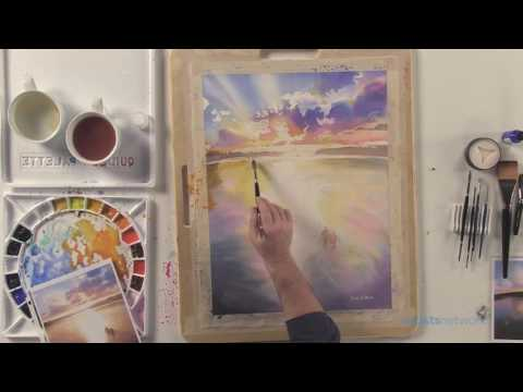 Preview | Paul Jackson's Watercolor Workshop: The Color of Sunset