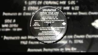Samantha - Cravin Your Love (Radio Mix)