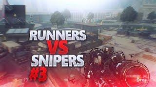BO2 RUNNERS VS SNIPERS#3!