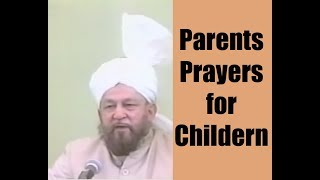 Parenting Tip: Prayers of Parents for Children for their Upbringing