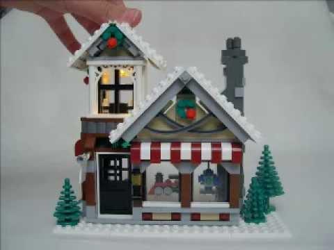 lego-10199-winter-toy-shop-timelapse!!!