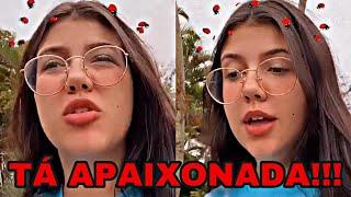 LUIZA PARENTE DEIXA ESCAPAR EM LIVE QUEM É SEU CRUSH E CHOCA!!!