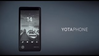Why we created YotaPhone -- Vlad Martynov, CEO, Yota Devices