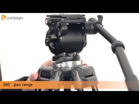 Linkdelight.com-WEIFENG Fancier WF-717 Professional Camera Tripod Introduction