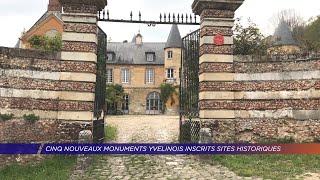 Yvelines | Cinq nouveaux monuments Yvelinois inscrits sites historiques