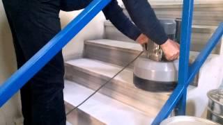 Cerlift Bee 290 Trio Compact Mermer-Granit ve Basamak Silim ve Cilalama Makinesi-2 Video