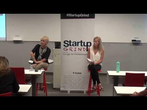 Clare Woodcraft (Emirates Foundation)@ StartupGrind Dubai