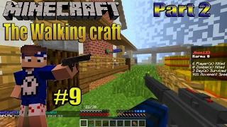 9 minecraft server de modpack the walking craft ou the crafting dead pirata e original