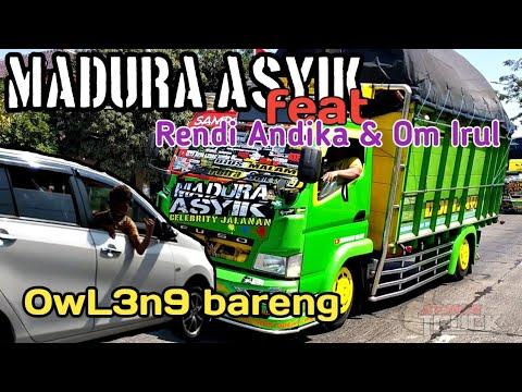 Mboiss!! Konvoi Madura Asyik feat Rendi Andika & Om Irul OL3n6 di pantura Alas Roban