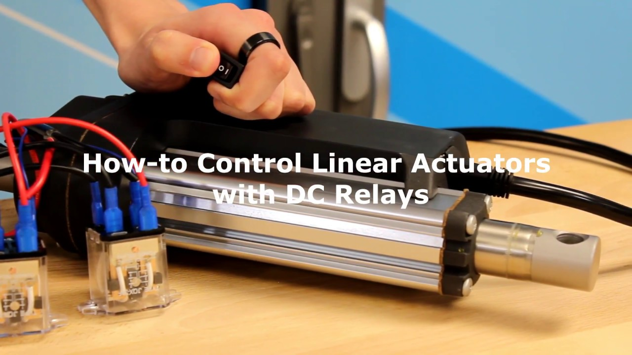 hight resolution of how to control linear actuators with dc relays