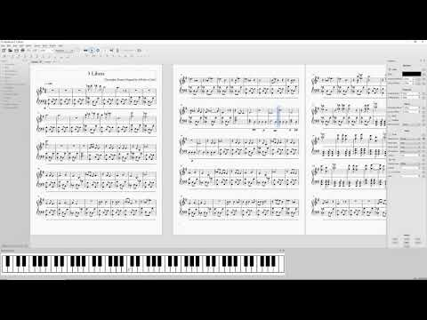 3 Libras Piano Composition w/ Sheet Music