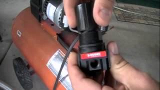 Air compressor regulator fix