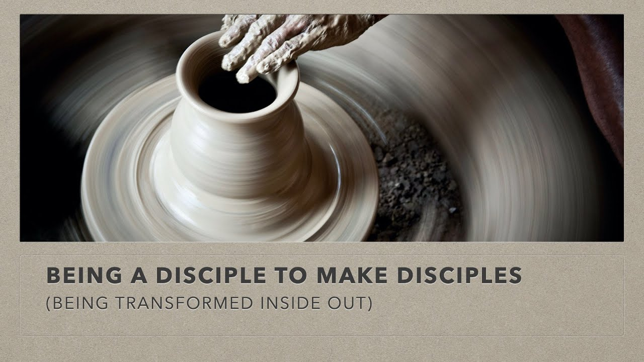 8 November English service: Being A Disciple to Make Disciples ~ Ps. Steven Phang