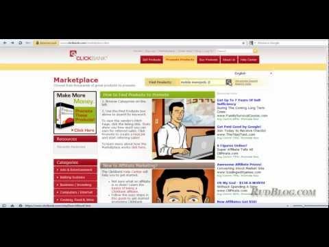 Как заработать в clickbank через Ютуб: урок 2