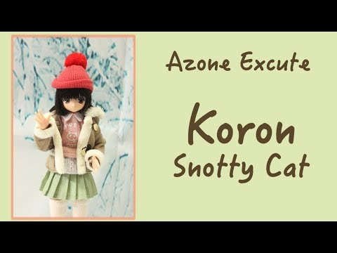 Azone Doll Review: Snooty Cat Koron (Excute 12th series)