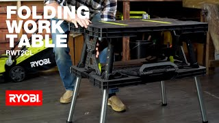 RYOBI Australia: Folding Worktable