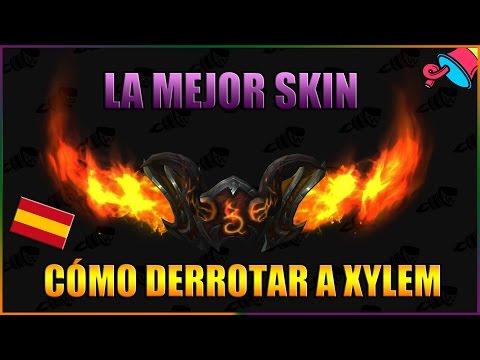 [Guía] Cómo derrotar a Xylem y conseguir la skin Segadora Flamígera