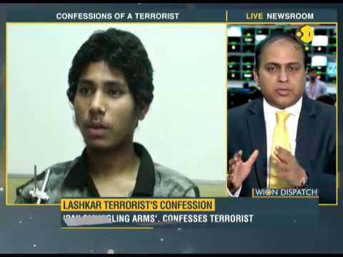WION Dispatch: Lashkar terrorist reveals Pakistan's role in smuggling arms to India