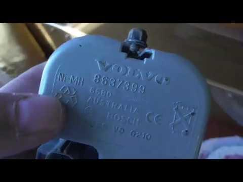 Вольво хс90 Сирена штатной сигнализации (лечим сами)