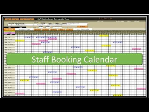 Staff Booking