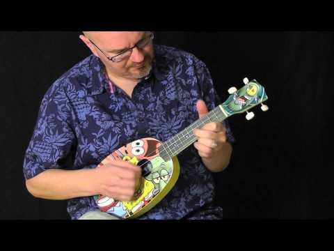 Spongebob Squarepants ukulele rock classics