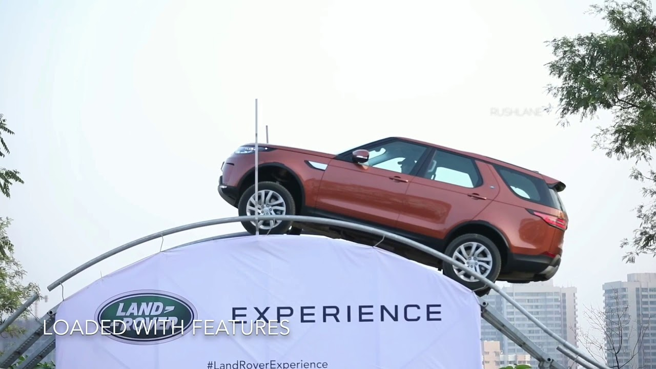 Land Rover Discovery Off-Road Experience