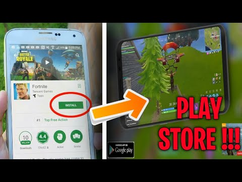 HOW TO DOWNLOAD FORTNITE MOBILE ON ANDROID FROM THE GOOGLE PLAY STORE | NO HUMAN VERIFICATION