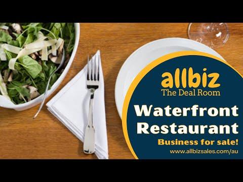 Allbiz Business Sales Deal Room | Waterfront Restaurant