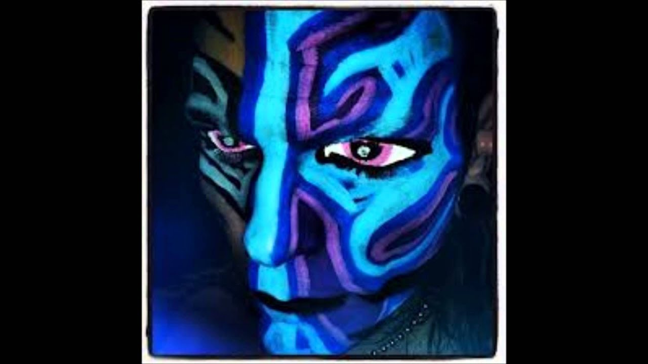 Jeff Hardy With Face Paint