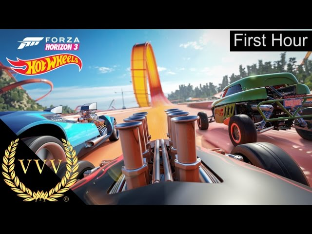 Forza Horizon 3 - Hot Wheels First Hour Highlights