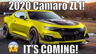 2020 Camaro ZL1 *LEAKED* You Will Not Believe This!