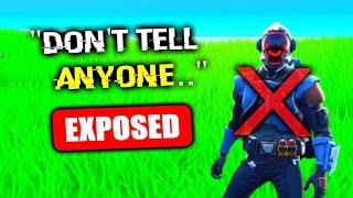 EXPOSING The Truth.. (Fortnite)