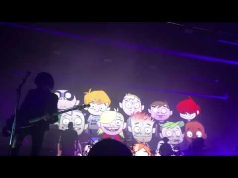 Gorillaz- Dirty Harry live