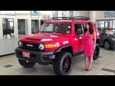 2012 Toyota Fj Cruiser Trail Team Special Edition Package