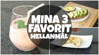 MINA 3 FAVORIT MELLANMÅL | Back to School 2015