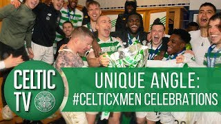 UNIQUE ANGLE: #CelticXMen celebrations ❎🏆