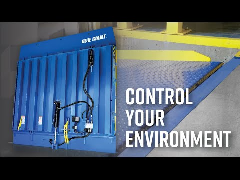 Blue Giant VL Vertical Storing Dock: Drive-Through Application