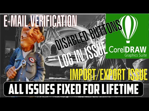 CorelDraw x8 Sign In And Disabled Buttons Fixed LIFETIME    Azmaray   