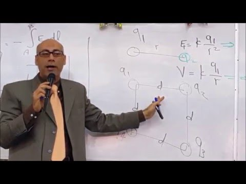 Electric potential الجهد الكهربى