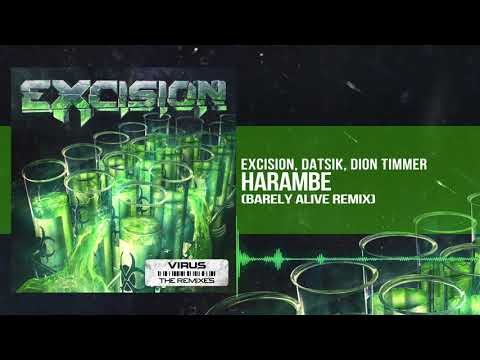 Excision, Datsik, Dion Timmer - Harambe (Barely Alive Remix)
